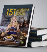 """Grāmata """"151 garšīgas dzīves recepte"""""""